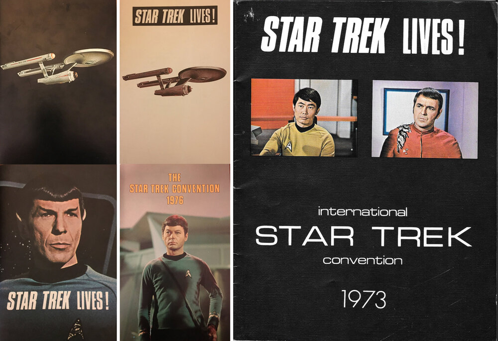 Star Trek Convention Program